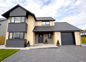Thumbnail 4 bed detached house for sale in Cefn Ceiro, Llandre