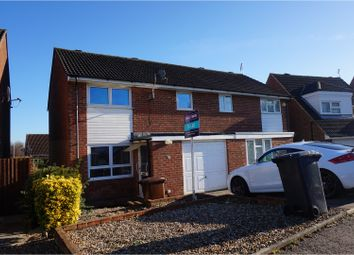 Thumbnail 3 bed semi-detached house to rent in Cottingham Drive, Northampton