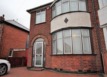 Thumbnail 3 bedroom semi-detached house to rent in Catherine Street, Leicester