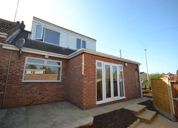 Thumbnail 3 bed bungalow for sale in Montfort Close, Northampton