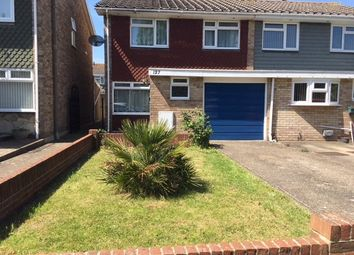 Thumbnail 4 bed semi-detached house to rent in Warren Avenue, Southsea