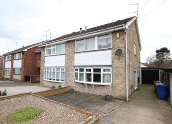 Thumbnail 3 bedroom semi-detached house for sale in Waverley Lane, Burton-On-Trent