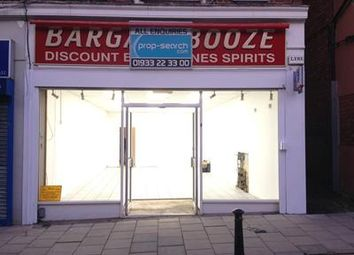 Thumbnail Retail premises to let in 102 High Street, Rushden, Northamptonshire