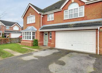 Thumbnail 5 bed detached house for sale in Punton Walk, Snaith, Goole