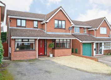 Thumbnail 4 bed detached house for sale in Fox Hollow, Eccleshall, Stafford