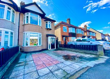 Thumbnail 3 bed semi-detached house for sale in Hornchurch Road, Hornchurch
