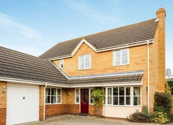Thumbnail 4 bed detached house for sale in Bickerdikes Gardens, Sandy, Bedfordshire, .