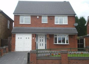 Thumbnail 4 bed detached house to rent in Green Lane, Shelfield, Walsall