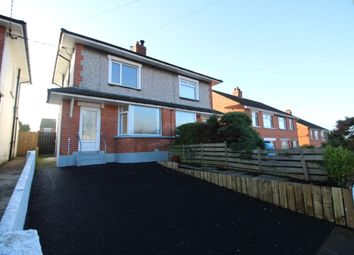Thumbnail 3 bedroom terraced house for sale in Silverstream Avenue, Bangor