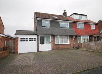 Thumbnail 4 bed semi-detached house for sale in Woodhouse Road, Urmston, Manchester