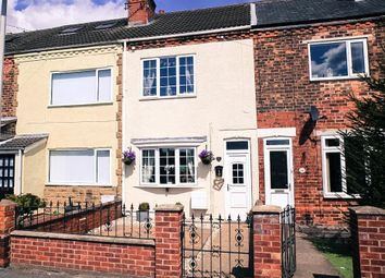 Thumbnail 2 bed terraced house for sale in Rosehill, Goole