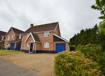 Thumbnail 4 bedroom detached house to rent in Holmere Drive, Halesworth