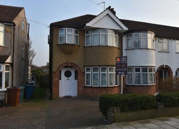 Thumbnail 3 bedroom end terrace house to rent in Windsor Crescent, Harrow