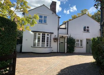Thumbnail 4 bed detached house to rent in Chapel Road, Alderley Edge