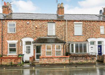 Thumbnail 3 bed terraced house for sale in Poppleton Road, York