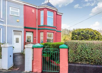 Thumbnail 3 bedroom end terrace house for sale in Wolseley Road, Plymouth