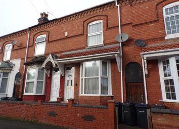 Thumbnail 2 bed terraced house for sale in Holder Road, Sparkbrook, Birmingham, West Midlands