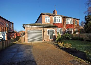 Thumbnail 3 bed semi-detached house for sale in Studley Villas, Forest Hall, Newcastle Upon Tyne