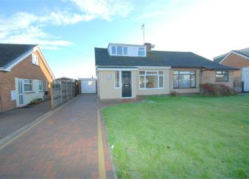 Thumbnail 2 bedroom semi-detached bungalow for sale in Massey Close, Hardingstone, Northampton