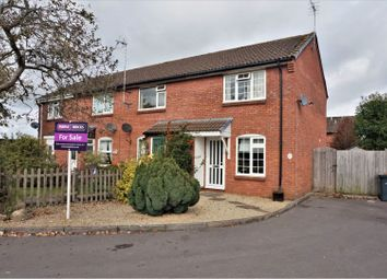 Thumbnail 2 bed end terrace house for sale in Bradbury Close, Chippenham