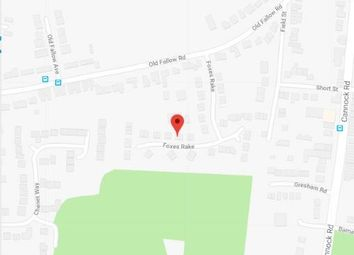 Thumbnail 2 bed semi-detached house for sale in Foxes Rake, Cannock