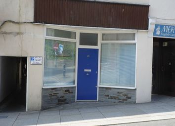 Thumbnail Studio to rent in 29 High Cross Street, St Austell, Cornwall