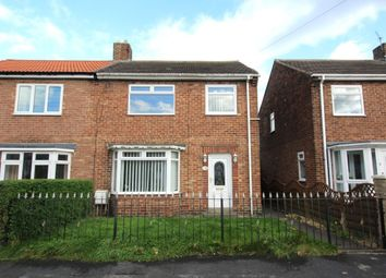 Thumbnail 3 bed semi-detached house for sale in Johnson Estate, Wheatley Hill, Durham