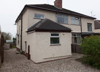 Thumbnail 2 bed semi-detached house for sale in Franklin Road, Hartshill, Stoke-On-Trent