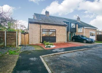 Thumbnail 3 bed semi-detached house for sale in Burwell, Cambridgeshire, .