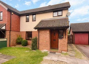 Thumbnail 3 bed semi-detached house for sale in Campion Hall Drive, Didcot