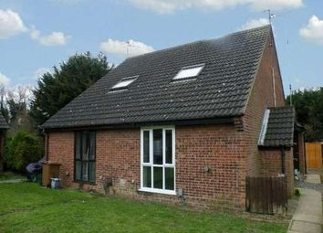 Thumbnail 1 bed end terrace house to rent in Churchfield Court, Walton, Peterborough