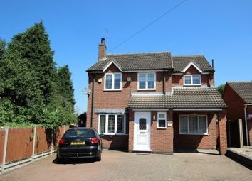 Thumbnail 4 bed detached house for sale in Leicester Road, Measham, Swadlincote