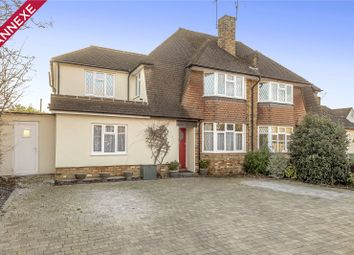 Thumbnail 4 bed semi-detached house for sale in The Greenway, Ickenham, Middlesex