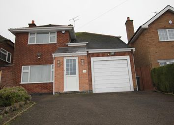Thumbnail 4 bed detached house for sale in Asquith Boulevard, Leicester, Leicestershire