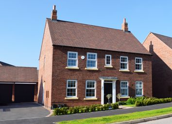 "Thumbnail 4 bed detached house for sale in ""Chelworth"" at Market Road, Thrapston, Kettering"