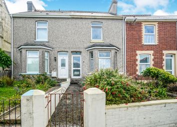 Thumbnail 2 bedroom terraced house for sale in Agaton Road, Plymouth