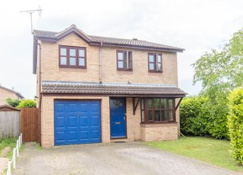 Thumbnail 4 bed detached house for sale in Windermere Drive, Wellingborough, Northamptonshire