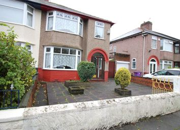 Thumbnail 3 bed semi-detached house for sale in Meadow Lane, West Derby, Liverpool, Merseyside