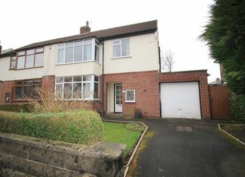 Thumbnail 3 bedroom semi-detached house for sale in Brookside Road, Fulwood, Preston