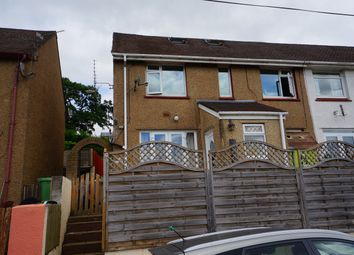 Thumbnail 5 bed end terrace house for sale in Severn Close, Risca, Newport