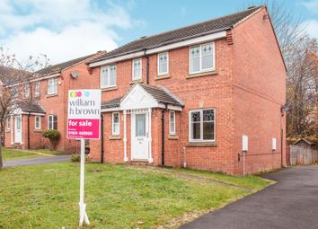 Thumbnail 2 bed semi-detached house for sale in Millbeck Approach, Morley, Leeds