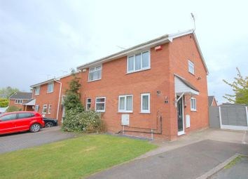 Thumbnail 2 bed semi-detached house for sale in Holbury Close, Crewe