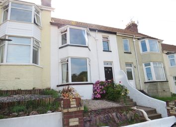 Thumbnail 3 bed terraced house for sale in Sherwell Park Road, Torquay