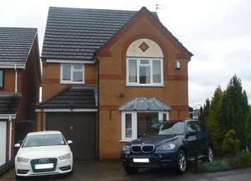 Thumbnail 4 bed detached house to rent in Northolt Drive, Nuthall, Nottingham