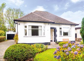 Thumbnail 2 bed bungalow for sale in Woodvale Avenue, Bearsden, East Dunbartonshire