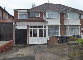 Thumbnail 4 bed semi-detached house for sale in Fairway, Northfield, Birmingham