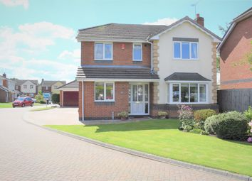 Cloverfields, Haslington, Crewe CW1. 4 bed detached house