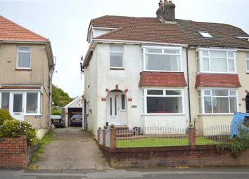 Thumbnail 3 bedroom semi-detached house for sale in Goetre Fawr Road, Killay, Swansea