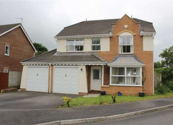 Thumbnail 4 bed detached house for sale in Maes-Y-Celyn, Three Crosses, Swansea