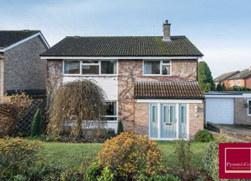 Thumbnail 4 bed detached house for sale in Clovelly Drive, Hellesdon, Norwich